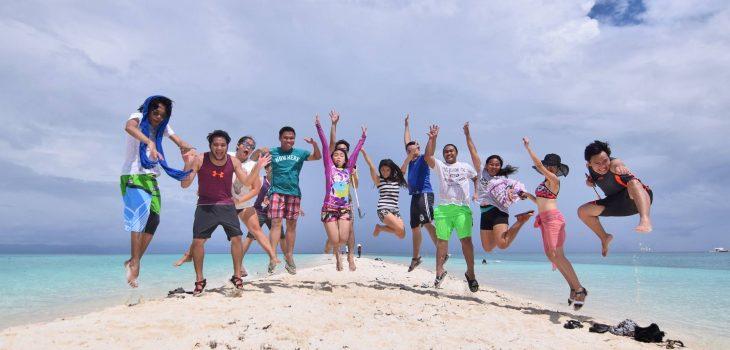 Great unwinding at Kalanggaman Island!